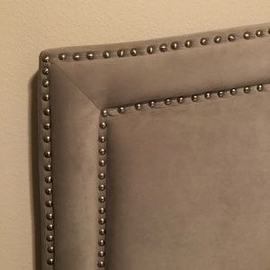 Other - Gray Queen Headboard and Frame